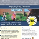 Back-to-School newsletter arrives